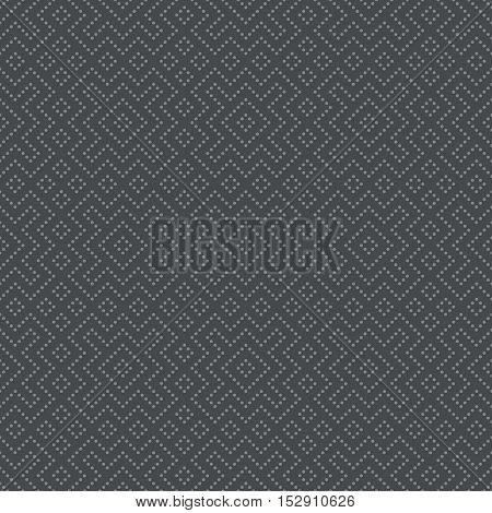 Vector seamless pattern. Abstract small dotted background. Modern geometrical texture. Regularly repeating stylish tiles with dots rhombuses zigzags. Contemporary design.