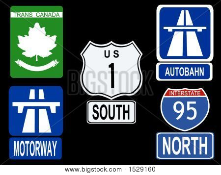 International Highway Signs