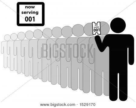 Person First In Line