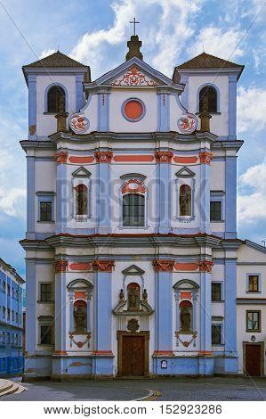 Old Building in Usti Nad Labem Czech Republic