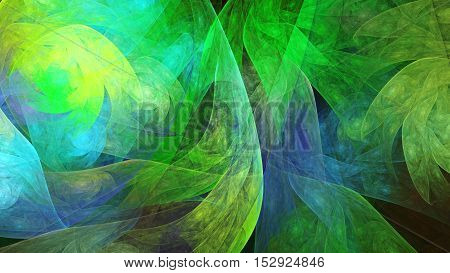 Fractal abstract texture. 3D surreal illustration. Sacred geometry. Mysterious psychedelic relaxation pattern. Digital artwork graphic astrology magic
