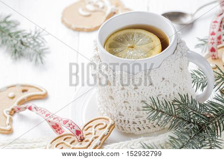 Festive Evening Tea Lemon Sweet Gingerbreads