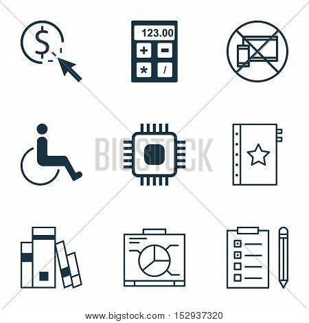 Set Of 9 Universal Editable Icons For Transportation, Seo And Project Management Topics. Includes Ic
