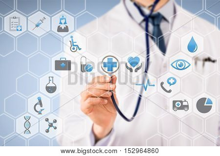 Are you ready for your checkup? Working Conceptual Business Concept