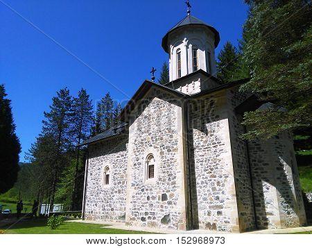 Beautiful orthodox monestry in Bosnia and Herzegovina