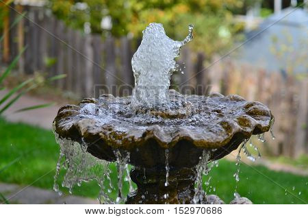 fountain garden decoration region Lower Austria Austria