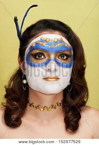 Bodyart Golden Mask