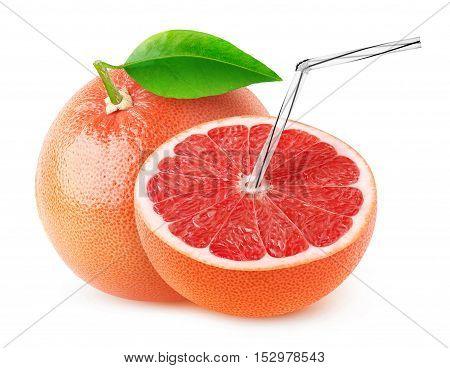 Isolated Grapefruit Juice
