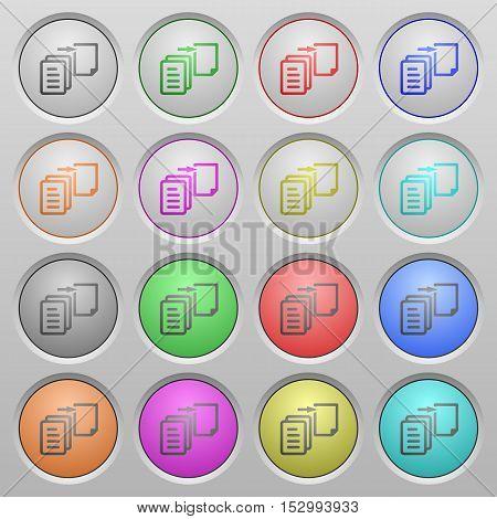 Move file plastic sunk spherical push button set