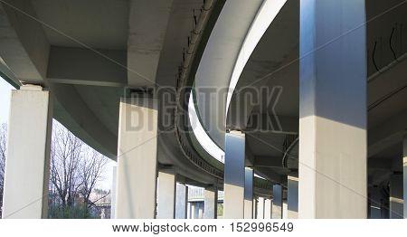 View The Concrete Bridge For Transportation