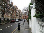 Rainy Day In Kensington poster