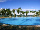 Outdoor Pool At Resort, Vietnam poster