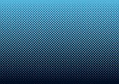 stock photo of dot pattern  - Seamless halftone dot pattern background with blue - JPG