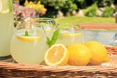 Freshly squeezed lemonade.