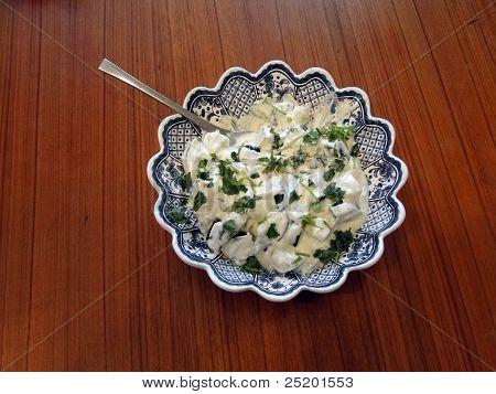 Yogurt Cucumber Cajik Raita