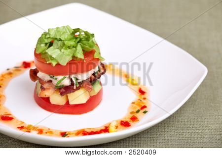 Delicious Salad Or Appetizer