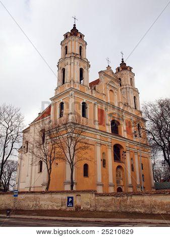 Saint Jakob And Saint Philip Church