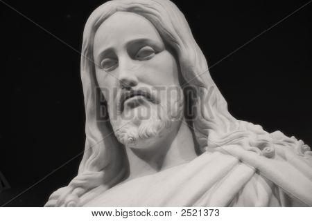 Christus With Black Background