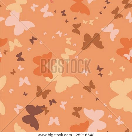 repetitive background with butterflies