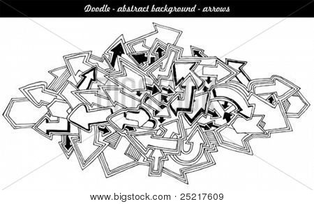 dodle - abstract background - arrows