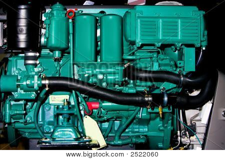 Inboard Boat Engine