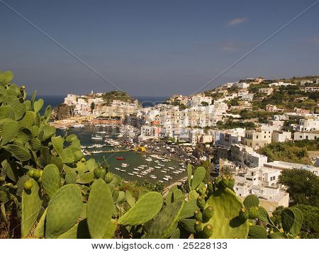 View from Ponza, Italy