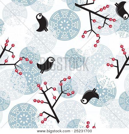 Winter pattern.