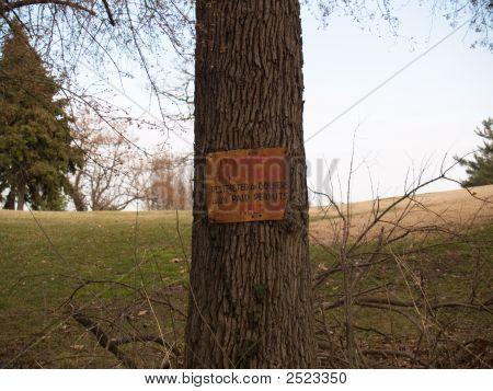 Old Golfer Warning