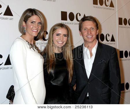 LOS ANGELES - NOV 12:  Colleen Bell, daughter, Brad Bell arrives at the MOCA Gala 2012 at MOCA on November 12, 2011 in Los Angeles, CA