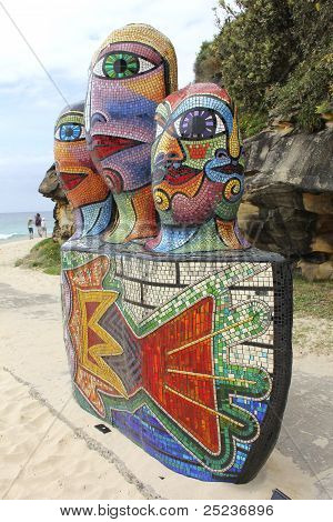 Sculptures By The Sea, Bondi, Australia