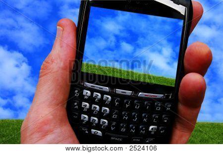 Cielo de teléfono celular