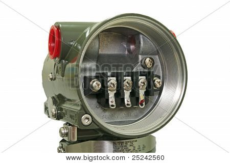 Pressure sensor.