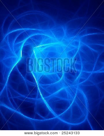 Abstract Design Blue Energy Play