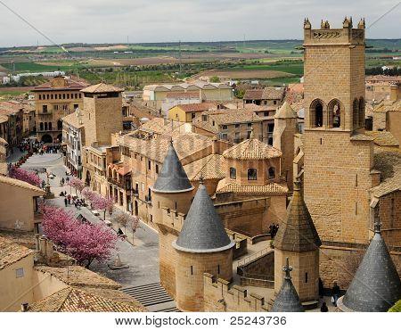Medieval Village of Olite, Spain