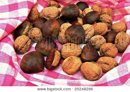chesnuts and nuts
