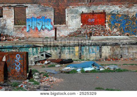 Urban Decay And Graffiti
