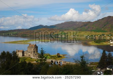 Looking over the Loch