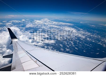 High altitude Sky clouds and