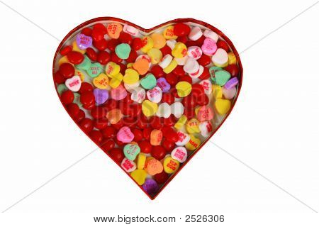 Valentine With Candy