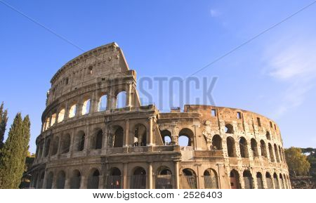 Colosseum Wide Angle