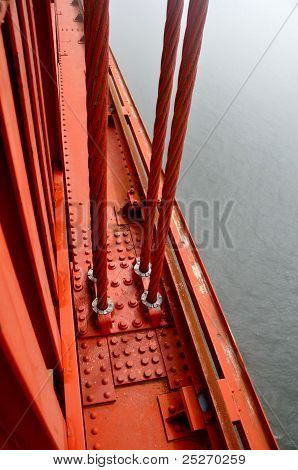 Cables Of Golden Gate