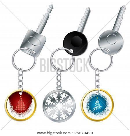 Christmas Keyholder Set