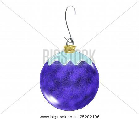 Christmas Ornament-Blue