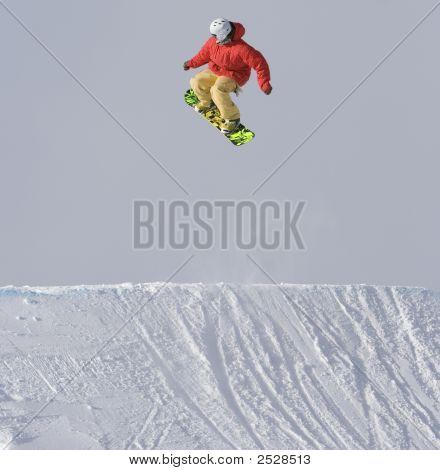 Bright Snowboarder