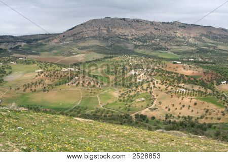Mountains In Moulay Idris