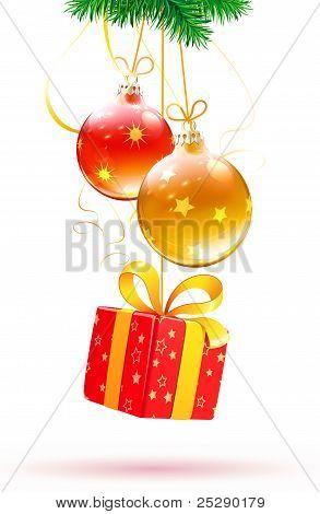 Christmas Decorative Composition