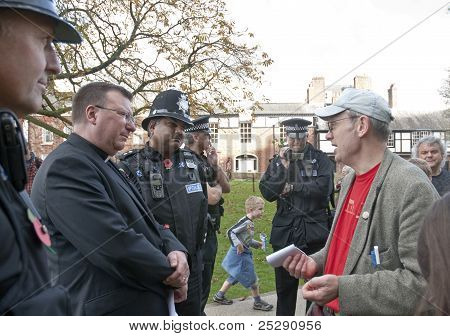 Devon And Cornwall Police Film Occupy Exeter Organiser Ghee Bowman In Conversation With Acting Dean