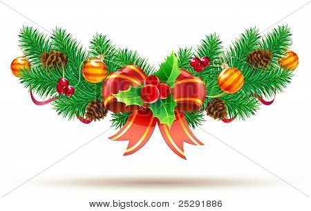 Christmas Decorative Composition