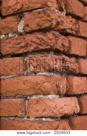 Bricks Wall. Corner
