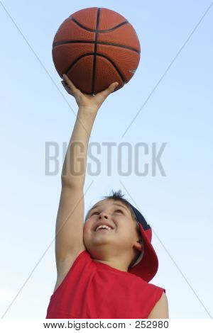 Boy With A Basketball